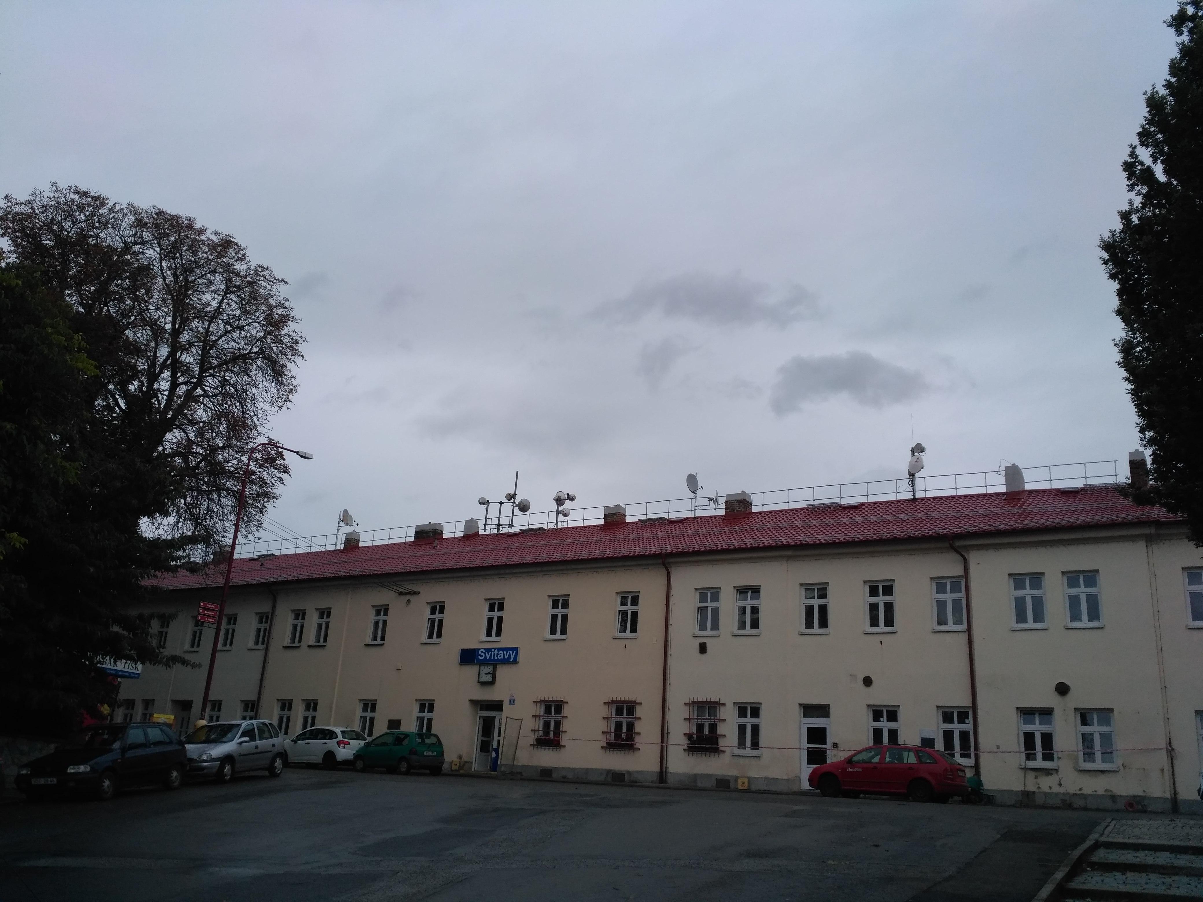 Vlakové nádraží Svitavy