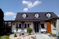 Kompletní dodání střechy včetně falcované krytiny.